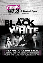 DJ BARON LOPEZ  MEN IN BLACK WOMENIN WHITE