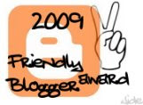 Friendly Blogger Award, Persahabatan dan Silahturahmi ala blogger 2009