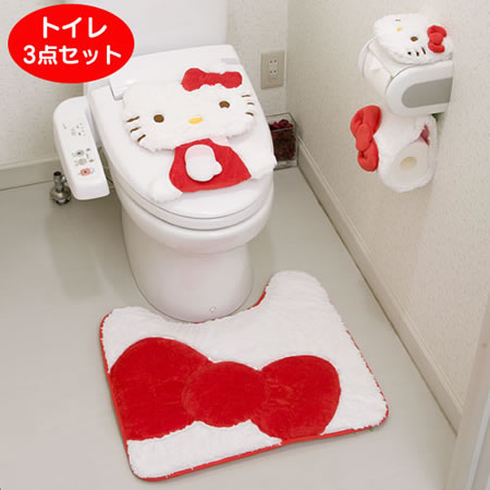 inodoro de la hello kitty