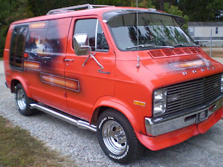 Cool Dodge van for sale