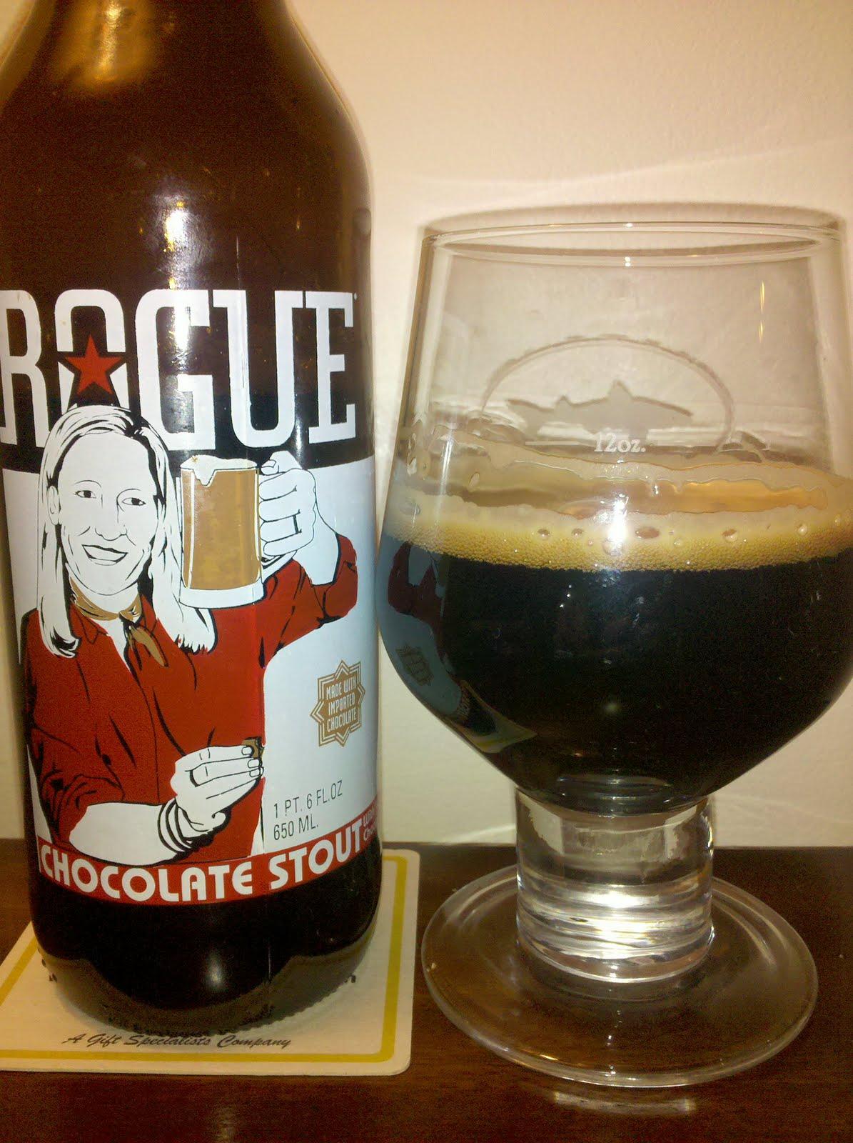 12 Oz Of Heaven: Rogue Chocolate Stout