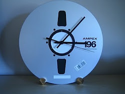 HAND MADE REEL TO REEL AND TURN TABLE CLOCKS