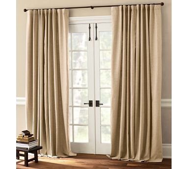 add roman shades and drapes to your french doors this will give you that designer touch that is often overlooked the roman shades will give you the