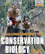 Livro sobre biologia da conservação disponível gratuitamente