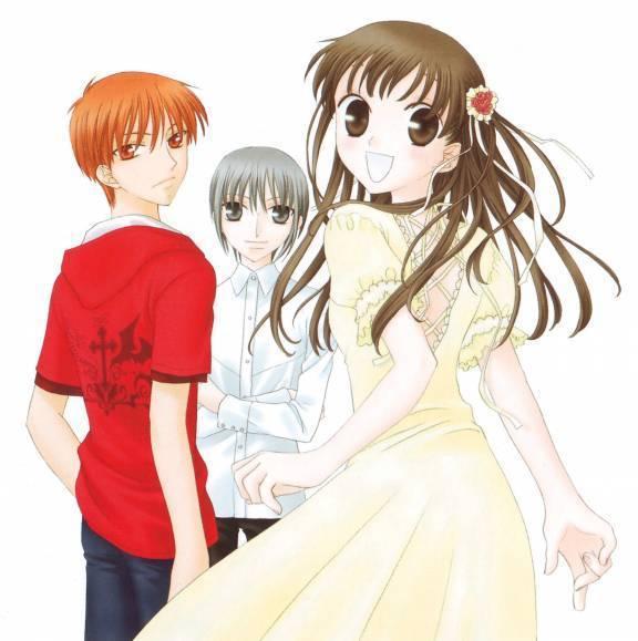 Lado Positivo Apesar Do Anime Fruits Basket Yuki And Kyo Kiss