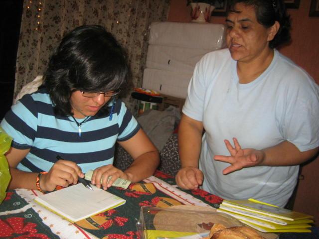 Donativo de Citlali Ramirez el 26 de Diciembre 2009