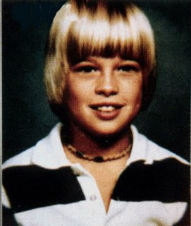 Brad pitt as a child