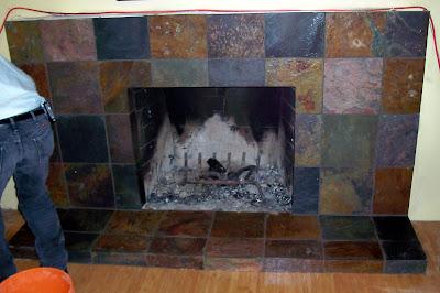 asset renovation maintenance inc slate fireplace surround