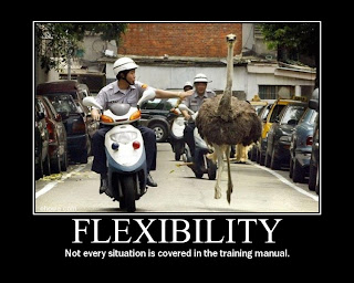 Motivational Flexibility, Not every situation is covered in the training manual