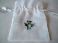 Scottish Thistle Bags
