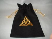 Large Celtic Knot Bag