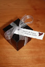 Highland Favour Box with Personalised Tags