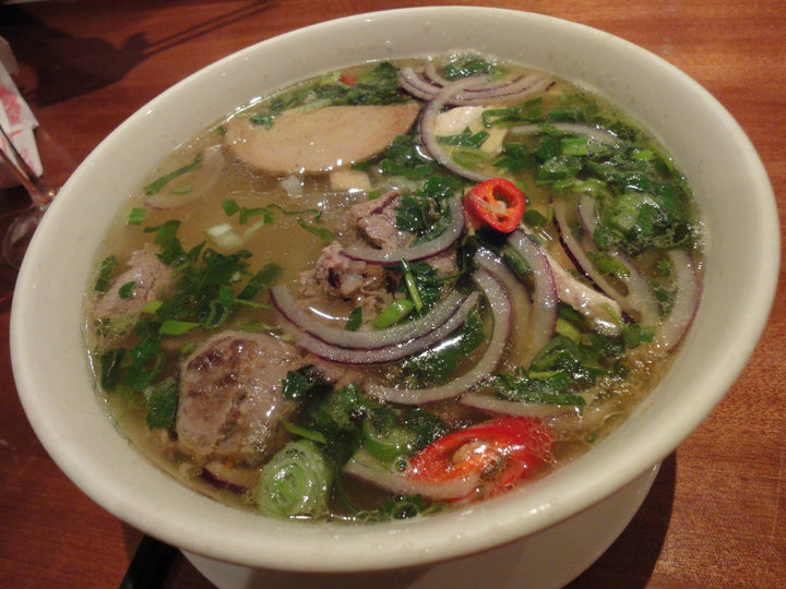 Vietnamese pho - personally I still prefer Song Que's version of this ...