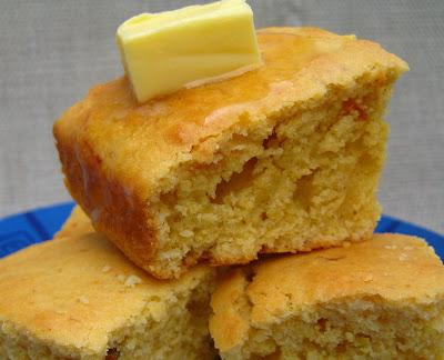 Sam Tan's Kitchen: Buttery Golden Northern Cornbread