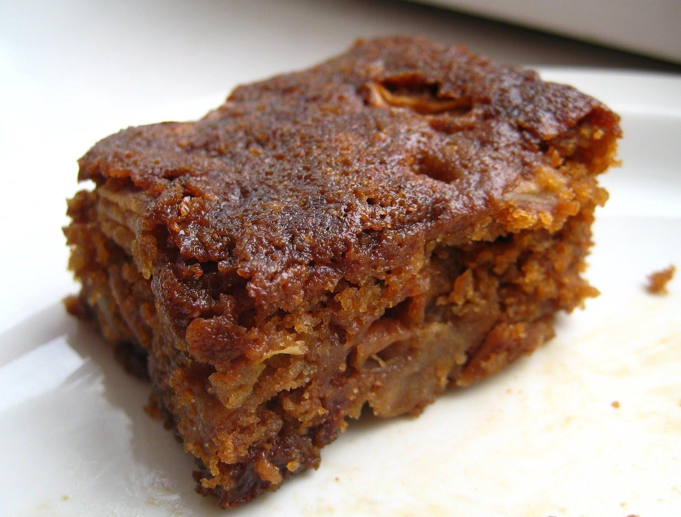Apple Upside Down Cake Vegan
