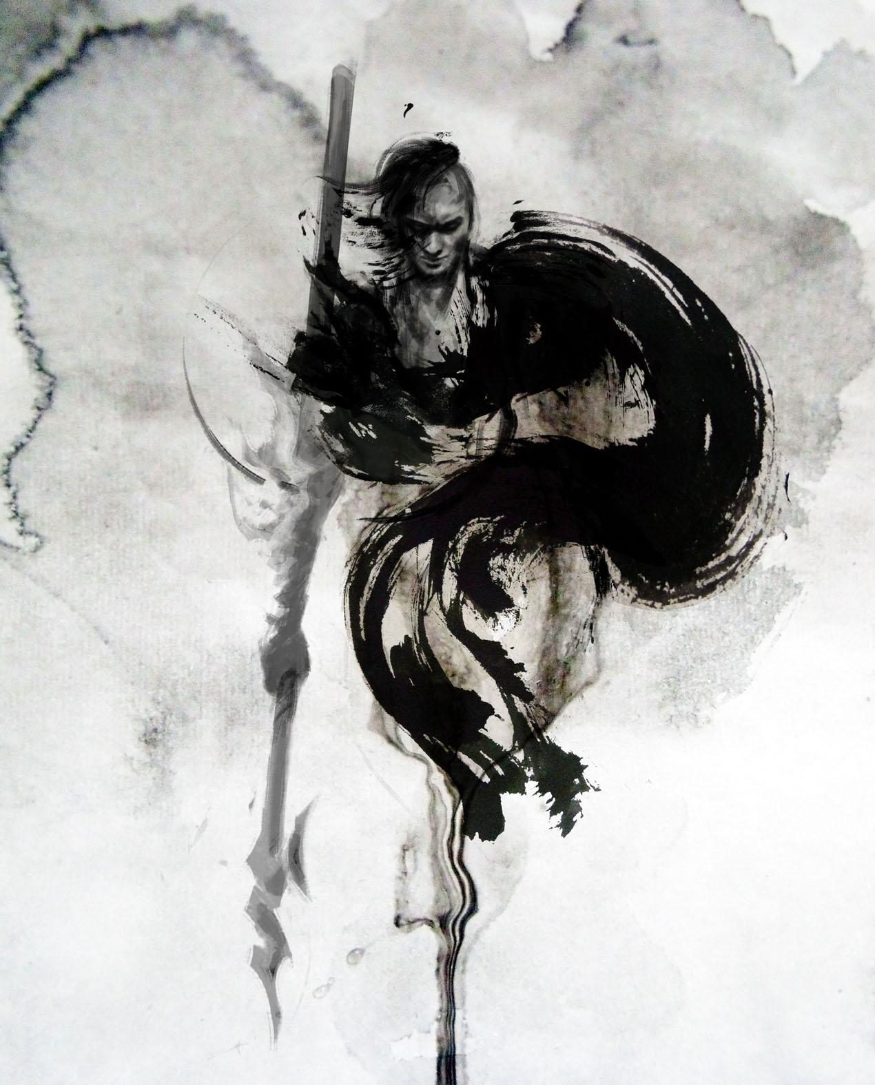 Ink Illustration: JUNGSHAN INK- Illustration: Univearth