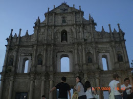 Ruins of St Paul's Cathedral aka 大三巴.