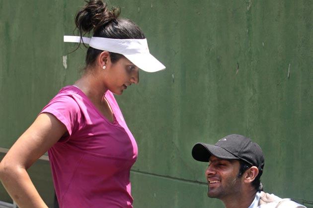 sania-shoaib-tennis-practice