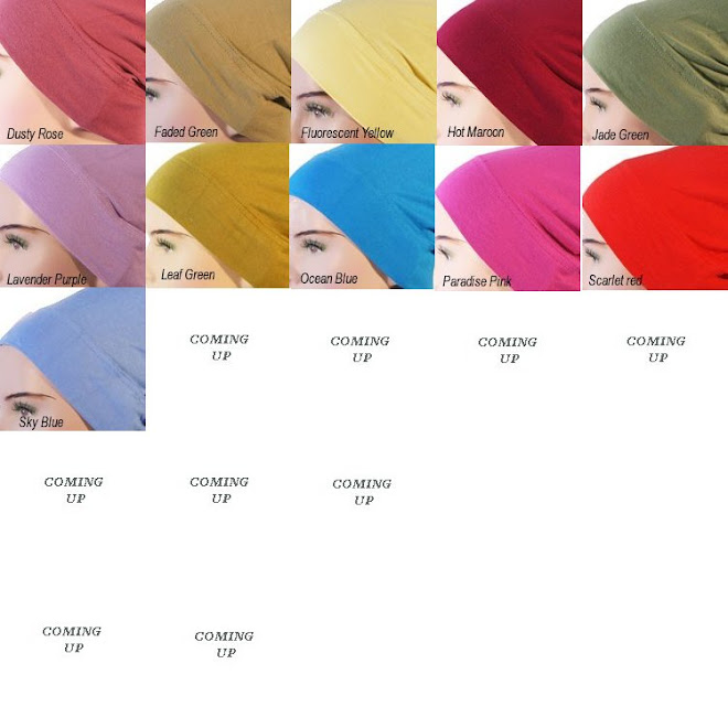 <b>.:: Catalogue Plain Turkish Underscarves ::.</b>
