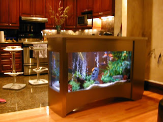 wall fish tanks
