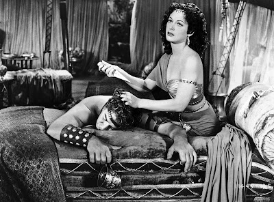 Heddy Lamar as Delilah with Sampson