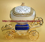 Royal jewellery box and music box $139