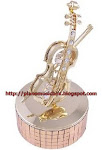 Italia violin music box $169