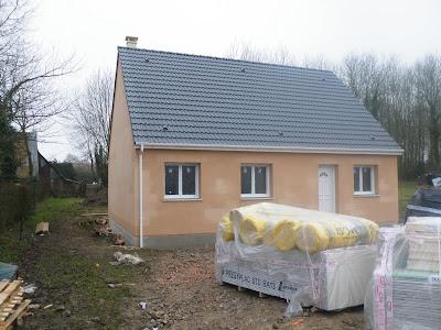 la construction de la maison mikit de boobiz ca y est on a les cles. Black Bedroom Furniture Sets. Home Design Ideas