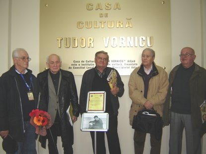 "La Casa de Cultura ""Tudor Vornicu"", dezvelirea placii comemorative"
