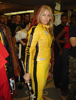 The Bride loves AbbyShot, and their Kill Bill inspired jacket!