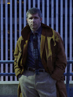 AbbyShot Customer Fox in his Blade Runner inspired Deckard Coat - Pose 4