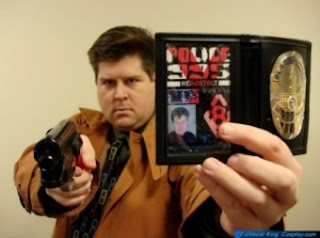 Bob shows us his Blade Runner ID in his Deckard Version 1.0 Coat from AbbyShot
