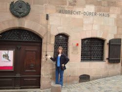 Me outside Durer's House
