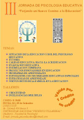 Jornada de Psicologa Educativa