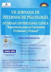 VII Jornada de Internos de Psicologa