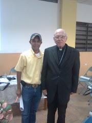 José Colmenarez y Mons. Ovidio Perez Morales