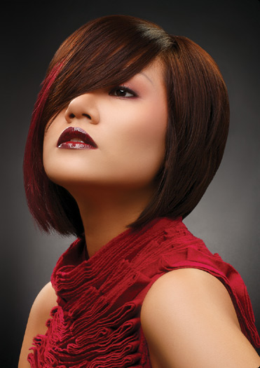 black bob hairstyles for 2010. short hair styles 2010 for