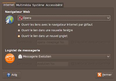 capture ecran Opera en application favorite pour le web
