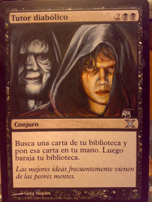 Tutor diabólico by fanath