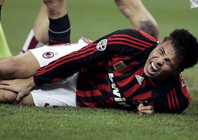 Ronaldo enfrenta novamente o drama de uma séria contusão