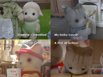 Vote your favorite story in the Sylvanian Families Blog.