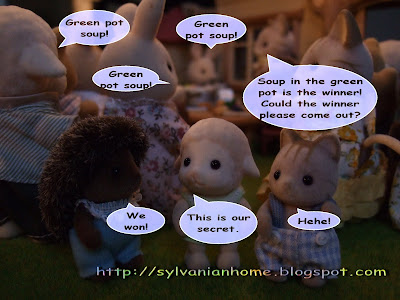 sylvanian families winner