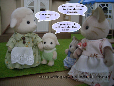 Sylvanian Families Story - Sheepie learnt a lesson.