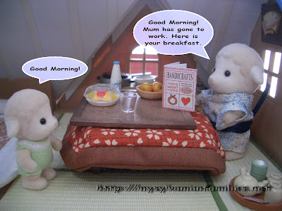 Sylvanian Families Story - Sheepie got up in the morning.