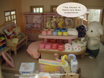 Sylvanian families shoes shop