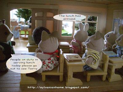sylvanian families classroom
