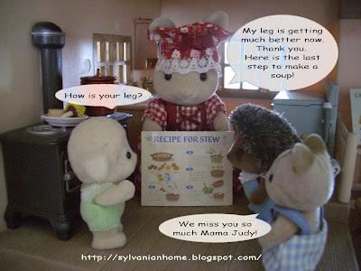 sylvanian families friends
