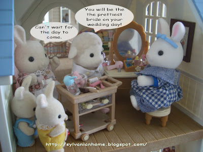 sylvanian families beauty shop