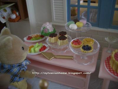 sylvanian families cakes