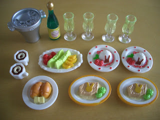 Sylvanian families food set